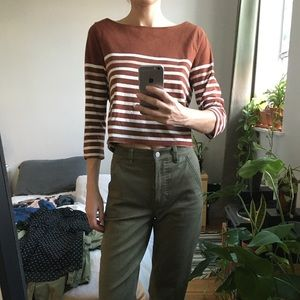 Urban Outfitters Cropped Shirt